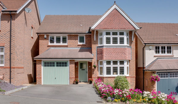New build home in Birmingham