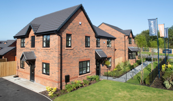 New build homes in Bolton