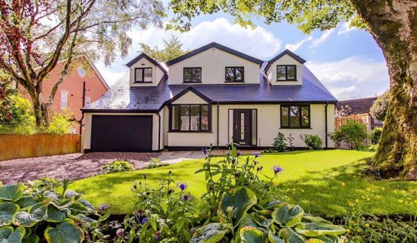 Modern detached house in Bolton