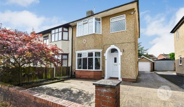 Semi-detached house for sale in Blackburn