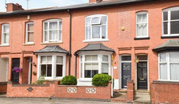 Terraced house for sale in Leicester