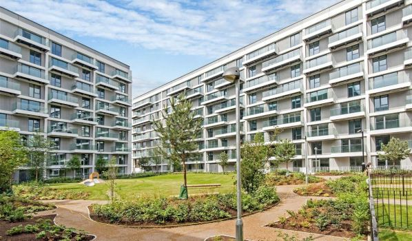New build flats in London