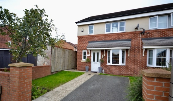 A three-bedroom semi-detached house in Bootle