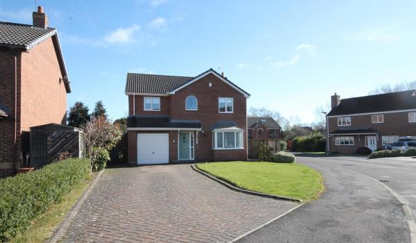 Three-bedroom detached family home in Shildon