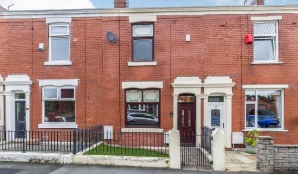 Two-bedroom terraced house for sale in Blackburn