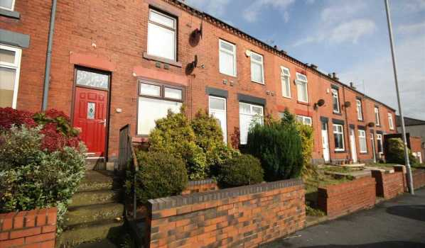 Two-bedroom terraced house in Bolton