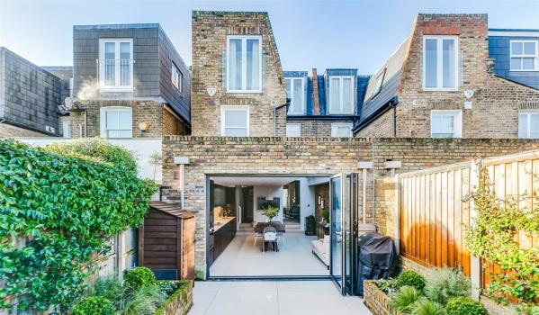 Extended Victorian terraced house