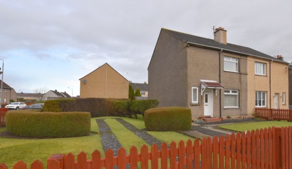 Affordable housing: Irvine in Scotland makes the list of towns where house prices are affordable.