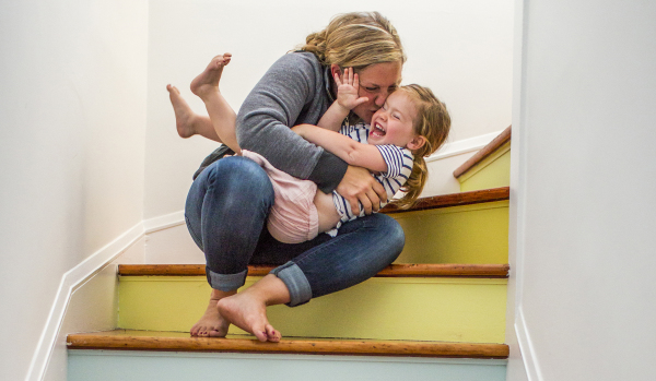 Quick and easy ways to make your new house a home: paint the stairs