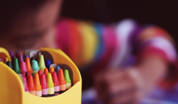 Coloured pens: Shutterstock