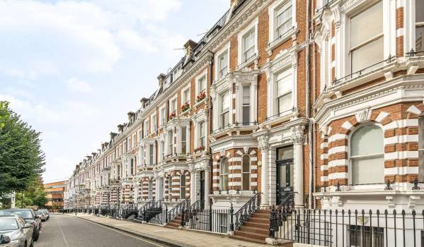Luxury period flats in London