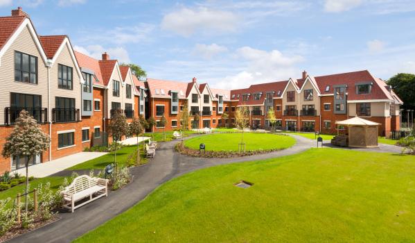 New-build retirement flats