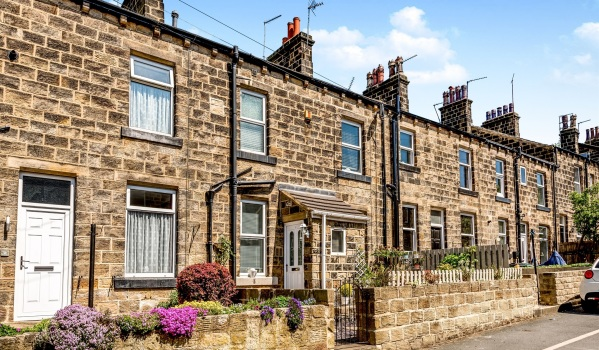 Terraced houses in Yorkshire