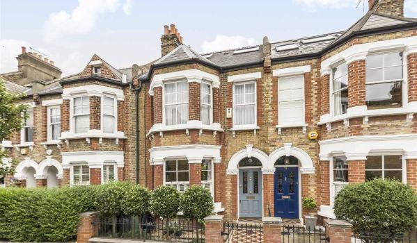 Terraced house in London