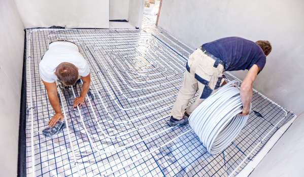 Make sure you account for labour costs when planning underfloor heating