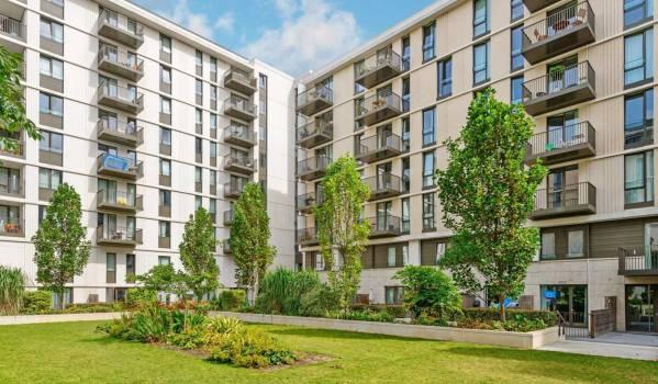 Modern flats in Stratford