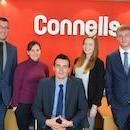 The team in Connells Dorchester